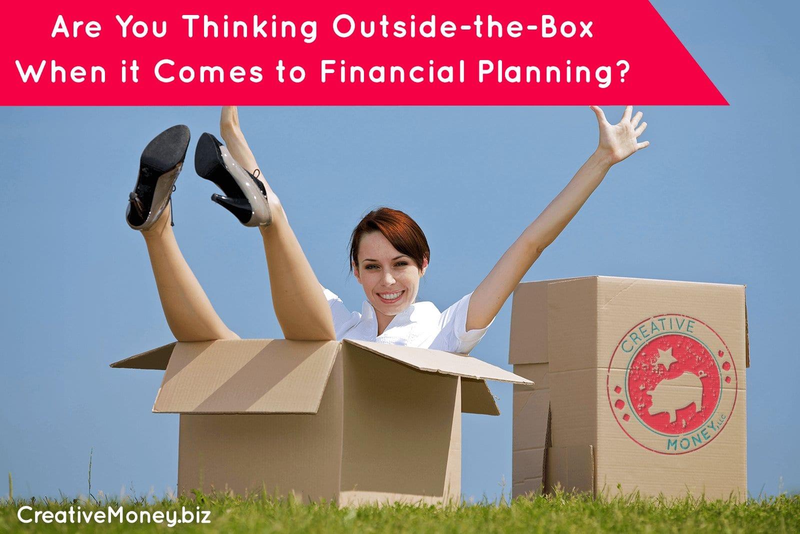 creative financial planning