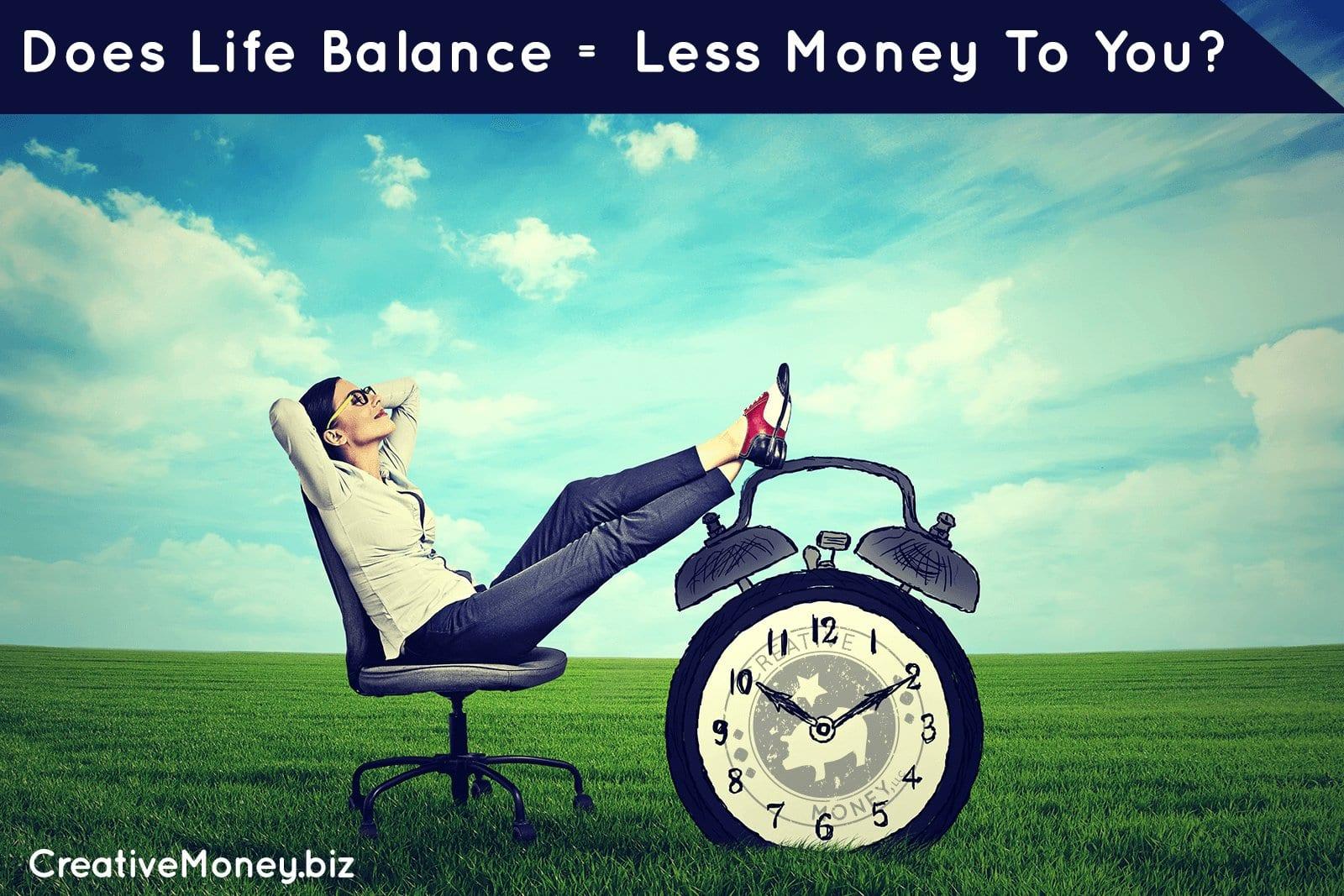 life balance and money