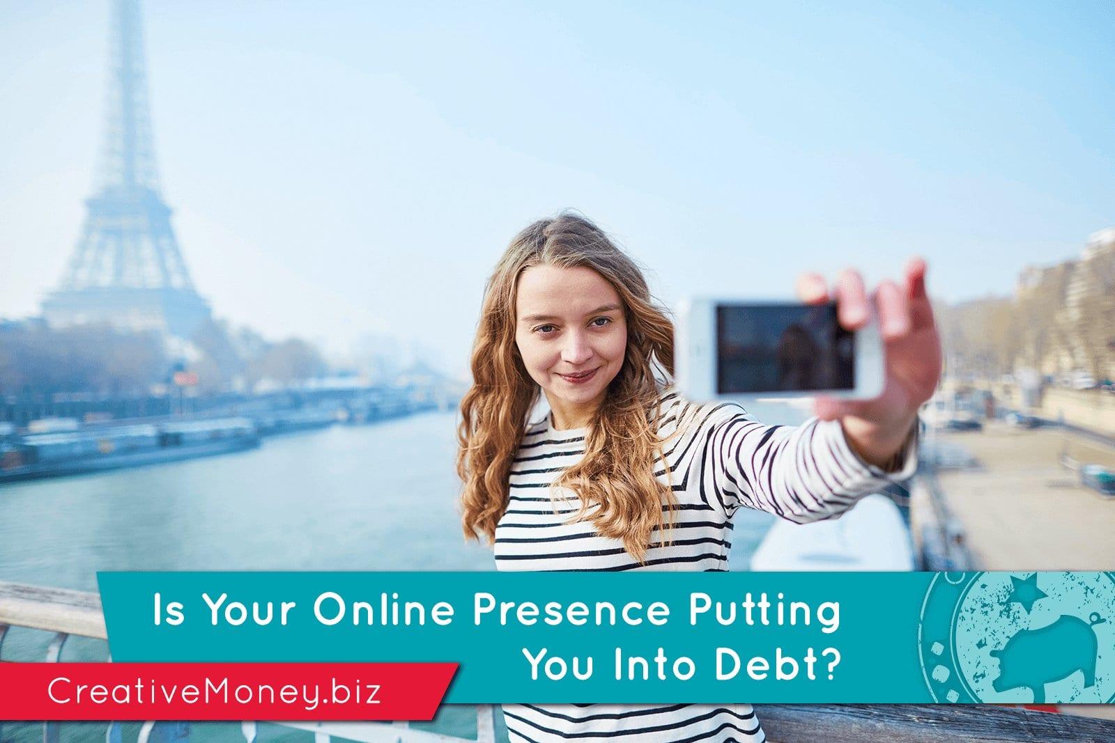 social media and debt