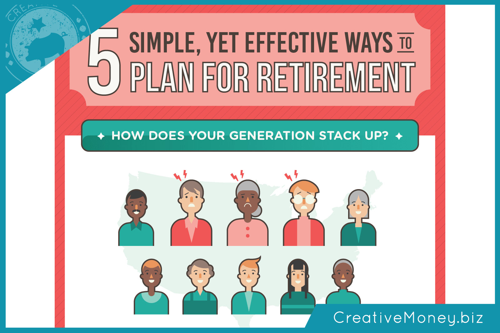 The easiest way to start your retirement savings | Creative