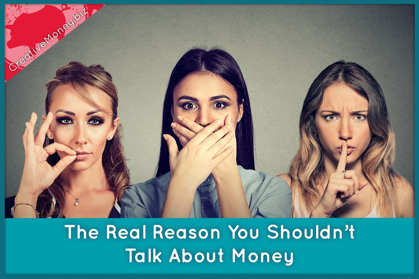 The Real Reason You Shouldn't Talk About Money