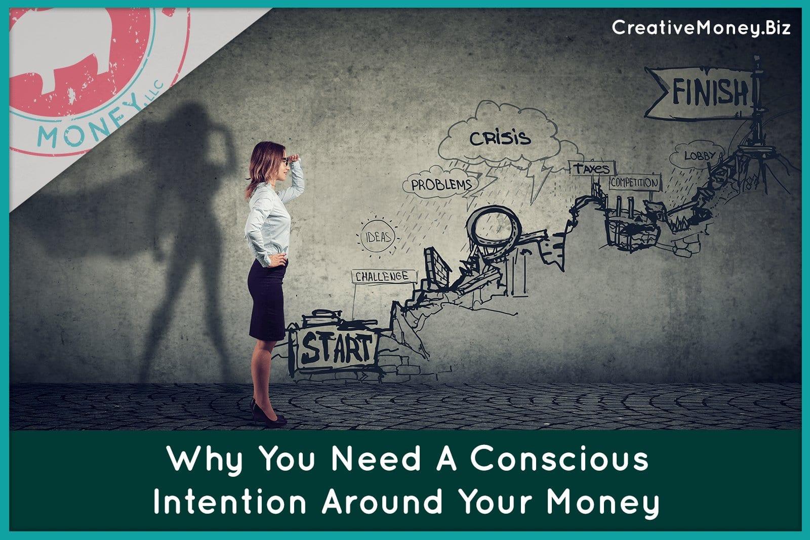 Intention around money